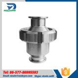 Válvula de verificação sanitária da braçadeira do aço inoxidável tri