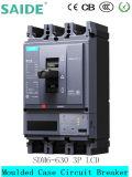 3p 630UN MCCB Intelligent disjoncteur du circuit de vide à boîtier moulé