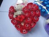 결혼식과 발렌타인 선물을%s 승진 선물 비누 로즈 꽃 인공 꽃
