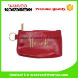 China-Lieferanten-glänzender roter kosmetischer Beutel für Dame Handbag