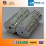 ISO/Ts 16949 Gediplomeerde Permanente Neodymium Verzonken Magneten