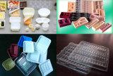 컵 Thermoforming 가득 차있는 자동적인 처분할 수 있는 플라스틱 기계