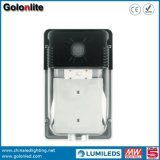 Chine Shenzhen Wall Pack Lighting Fabricant 120lm / W 2400lm 5 ans de garantie Capteur 20W IP65 LED Outdoor Wall Light