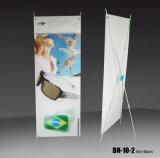Basamento poco costoso della bandiera di prezzi X che fa pubblicità alla cremagliera di visualizzazione (BN-10-2)