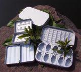 Caixa de alumínio da mosca da pesca de mosca