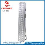 손잡이를 가진 6V 4 아아 전지 효력 60 SMD 비상사태 LED 빛