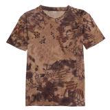 Таким образом новой конструкции летом круглый воротник режим быстрой сушки Quick-Dry футболка