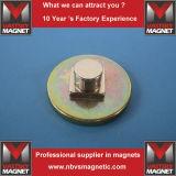 Permanentes Stab-Quadrat-rechteckiger Magnet mit Nickel-Zink-Kleber-Überzug