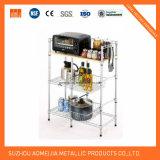 Fach-Gerät des Amjmp050s Küche-Draht-Regal-4-Shelf