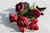 Preiswerteste künstliche Rosen-Großhandelsblume für Dekor