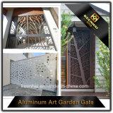Corte a Laser a banda decorativa da porta da garagem de alumínio