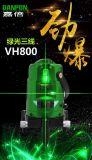 Het Hulpmiddel van het Niveau van de Laser van de Hulpmiddelen van de hand van Niveau van de Laser van de Lijn van de Laser Danpon het Multi Groene
