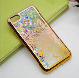 2017 выполненных на заказ двойных цветов гальванизируя динамический жидкостный случай телефона плывуна