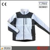 Estrutura Tecido Brasão malhas Mulheres Jacket