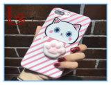 Prensar o gato Iphone6 / 7 caso de Telefone