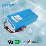 Banheira de venda da capacidade de alta potência de 48V/26Ah Bateria de lítio para veículo
