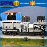 Kegel-Zerkleinerungsmaschine-Serien-mobile Zerkleinerungsmaschine, beweglicher Zerkleinerungsmaschine-Lieferant