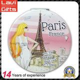 Espejo de bolsillo de la calidad de Hight medida para el Paris recuerdo