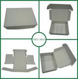 보통 백색 상자 백색 포장 상자는 자유롭게 재고 무료 샘플을 디자인한다