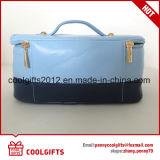 Portable Senhoras PU viajando lavar saco, Senhoras compõem saco, saco de cosmética