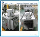 Масло охладило установленный пусковой площадкой распределительный трансформатор электричества