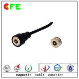Maschio elettronico e connettori di cavo magnetici femminili