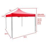 3x3m piscine Gazebo pliable portable de haute qualité polyester/tente de pliage