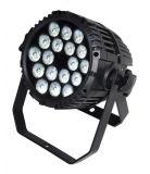 18PCS 10W RGB LED flaches NENNWERT Licht für Partei-Stadiums-Disco