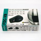 Casco de la motocicleta impermeable Bluetooth Interphone