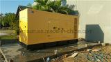 gerador Diesel Soundproof da energia 150kVA eléctrica por Cummins Engine