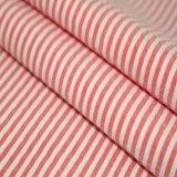 tela teñida del telar jacquar de la raya de los hilados de polyester 75D+75D*150d para la ropa