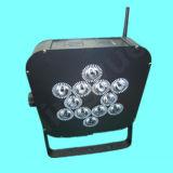Flaches Licht der Batterie-LED mit Fernsteuerungsbeleuchtung des radioapparat-LED