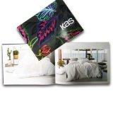 Sattel, der kundenspezifische Broschüre-gedruckten Katalog näht