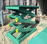 Il doppio fisso Scissor il funzionamento aereo elettrico delle Tabelle di elevatore idraulico