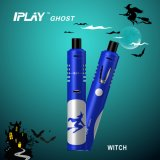 Venta al por mayor Iplay fantasma blanco Parca Kit de Inicio recargable Ecigarette