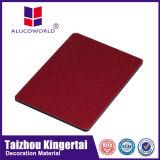 Material de construcción compuesto de aluminio de la importación del panel de Alucoworld de China