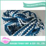 Ручного вязания перчатки из полиэфирного волокна шерсти хлопка фантазии нити