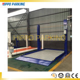 Ascenseurs de garage à deux postes hydrauliques / 2300 kg Équipement de stationnement mobile