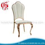 Metal quente do ouro de Rosa das vendas que janta a cadeira para o banquete de casamento