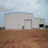 Magazzino chiaro prefabbricato di vendita caldo della struttura d'acciaio per il Congo