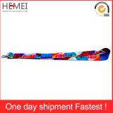 Cordão de poliéster de tubo de impressão de seda de cordão personalizado