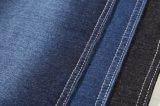 Tissu de Jean tricoté par extension bleue chaude de vente d'usine
