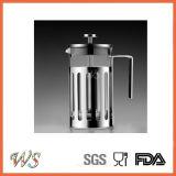 Wschxx029 Cafetière de presse française à chaud, presse à café en acier inoxydable
