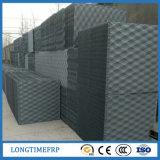 Заполнения стояка водяного охлаждения PVC шпинделя черные квадратные