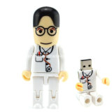 Mecanismo impulsor plástico del flash del USB del doctor USB Pendrive de Customed