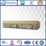 Панели каменного сота составные в декоративной стене