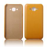 Samsung J7/J5/S5のための極めて薄く柔らかいPUの革電話箱