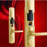 Замок фингерпринта системы замка двери обеспеченностью биометрический