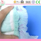 Caractéristique estampée et couches-culottes remplaçables matérielles non tissées de bébé de qualité de tissu