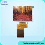 Супер широкий экран дюйма TFT LCD температуры 3.5 с сопротивляющей панелью касания